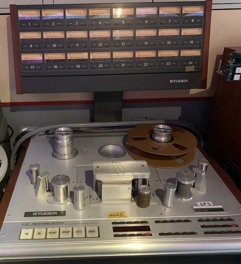 Studer A827 24 track 2 inch Image